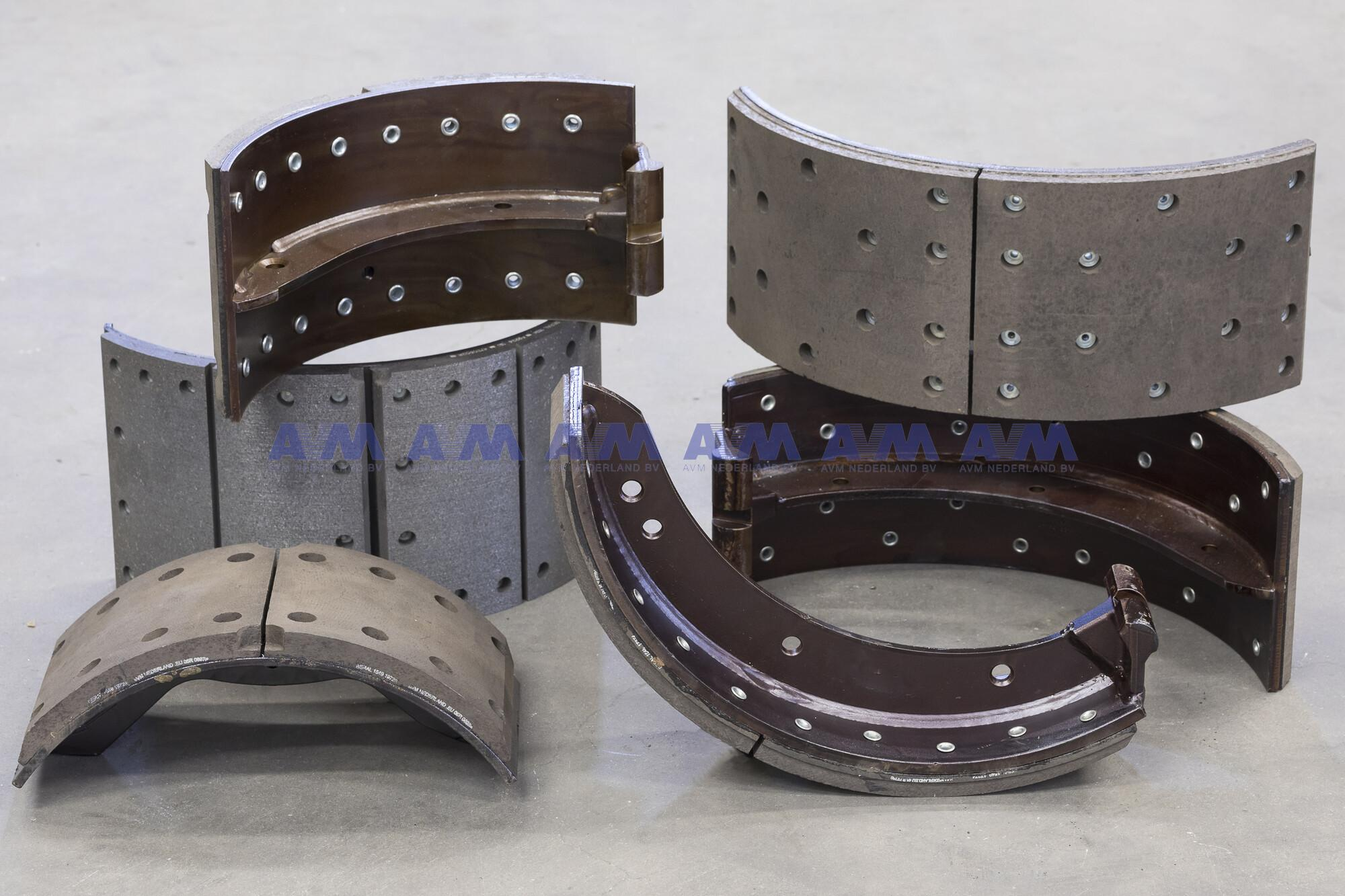 Ruilremschoen 410x180 mm gebruikt RS-9905-00-G