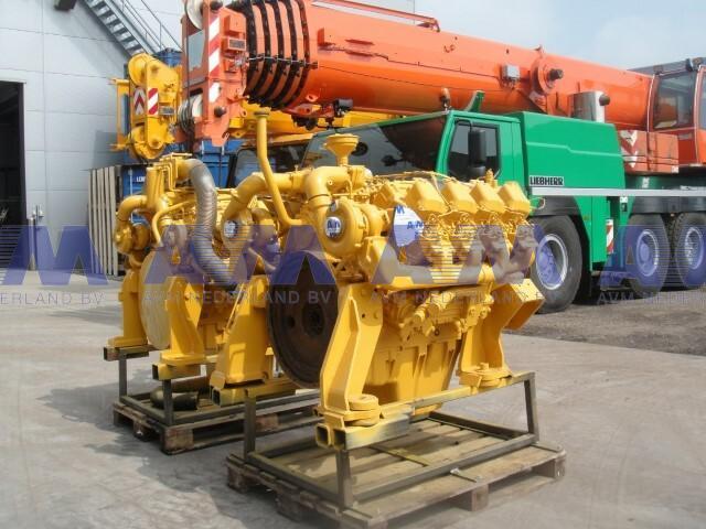 Motor LIEBHERR D936 L A 6 Gebruikt D936 L A6 LIEBHERR