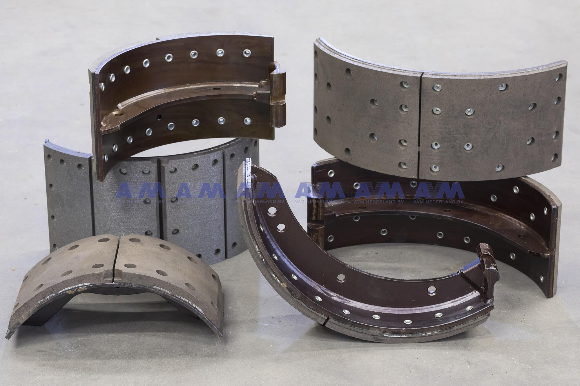 Remschoen kaal 500x160 mm 12.155.512 Wabco