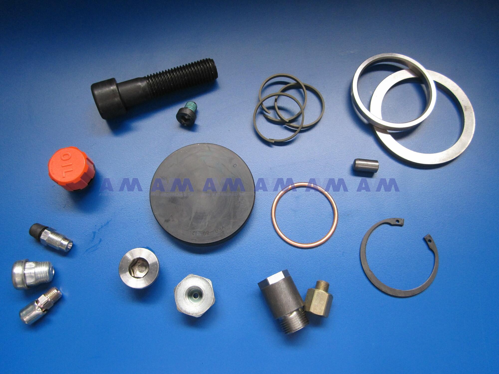 Motorsteun rubber Rechts 12558112 Terex