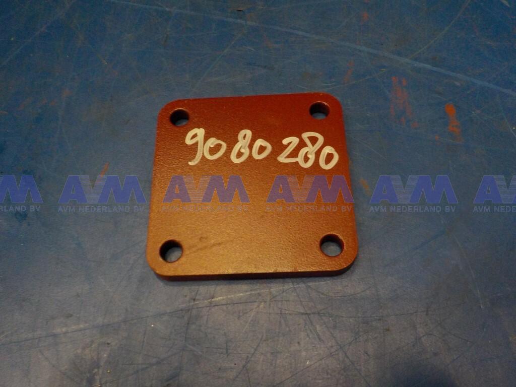 Afdekplaat  gebruikt 9080280-G Liebherr