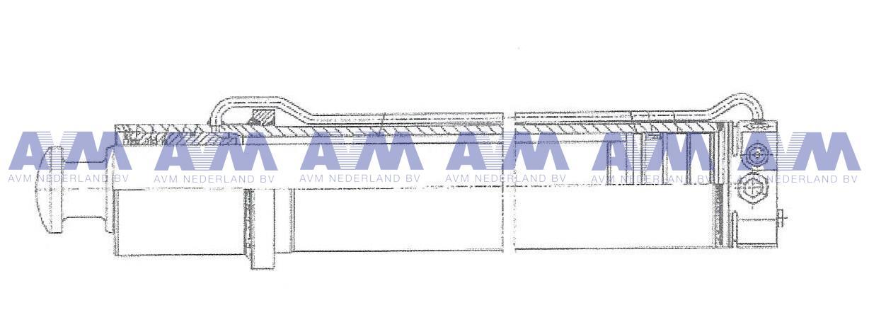 Stempelcilinder 99707006940 Tadano Faun