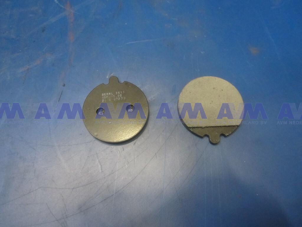 Brake pad set (2 pieces) 34835.28 Knott