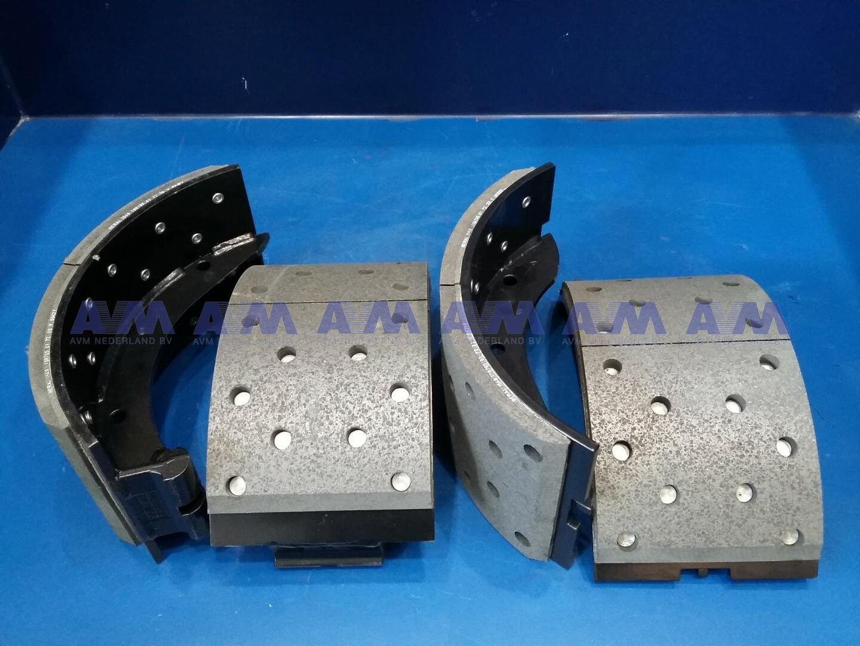 Brake shoe with lining 410x180 mm 000.601.9767 MAFI